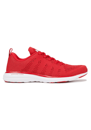 Apl® Athletic Propulsion Labs Pro Mesh Sneakers Woman Red Size 5