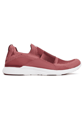 Apl® Athletic Propulsion Labs Bliss Mesh And Neoprene Slip-on Sneakers Woman Antique rose Size 5