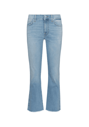 Cropped Boot mid-rise jeans