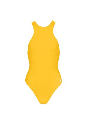 Ribbed jersey swimsuit