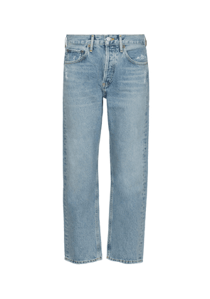 Parker high-rise straight jeans