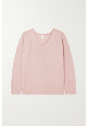 Max Mara - + Leisure Smirne Knitted Sweater - Baby pink