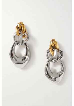Alexander McQueen - Silver And Gold-tone Earrings