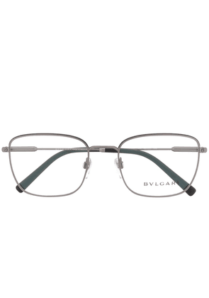 Bvlgari square frame glasses - Grey
