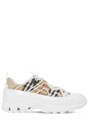 30mm Arthur Check Canvas Sneakers