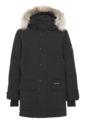 Emory Down Parka W/ Fur Trim