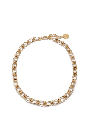 By Alona - Valentina 18kt Gold-plated Necklace - Womens - Yellow Gold
