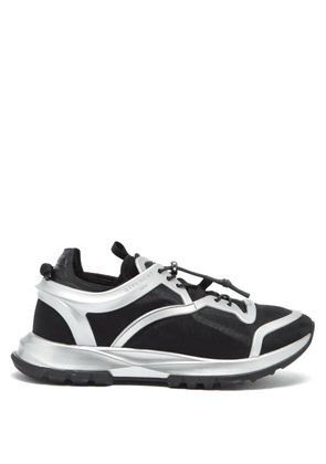 Givenchy - Spectre Mesh-panel Trainers - Mens - Black Silver