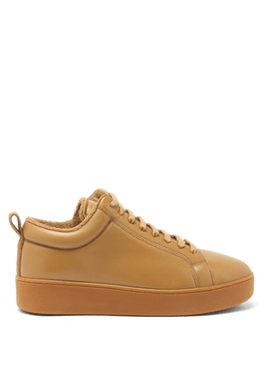 Bottega Veneta - Terry-lined Nappa-leather Trainers - Mens - Brown