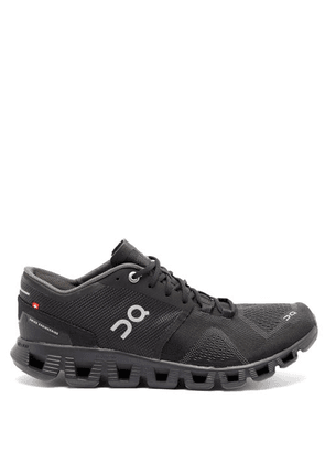 On - Cloud X Running Trainers - Womens - Black