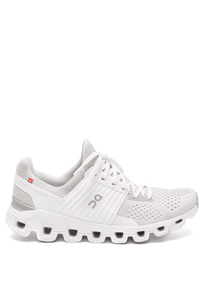 On - Cloudswift Mesh Running Trainers - Womens - Grey White