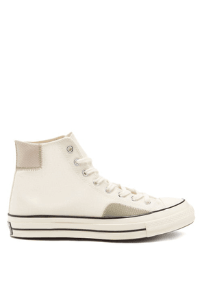 Converse - Chuck 70 High-top Canvas Trainers - Mens - White Multi