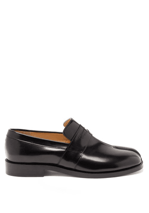 Maison Margiela - Tabi Split-toe Leather Loafers - Womens - Black