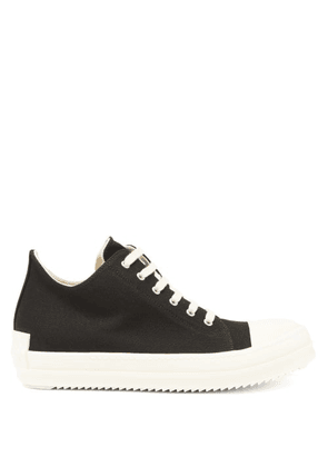 Rick Owens Drkshdw - Scarpe Canvas Trainers - Mens - Black White