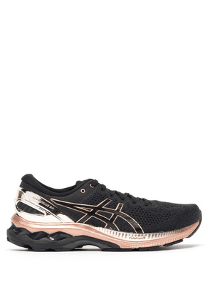 Asics - Gel-kayano 27 Mesh Running Trainers - Womens - Black Gold