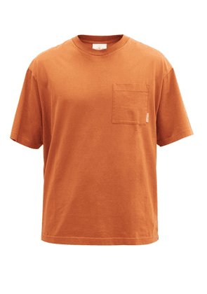 Acne Studios - Extorr Logo-tab Cotton-jersey T-shirt - Mens - Brown