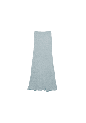 Theory Ribbed Skirt In Compact Knit