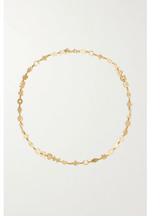 Sydney Evan - Tiny Pure 14-karat Gold Necklace