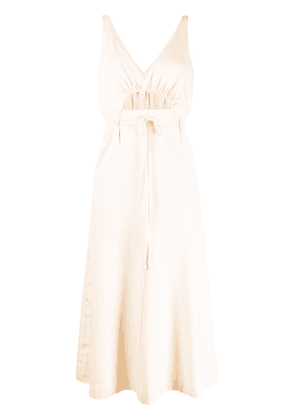 Alice McCall cut-out drawstring waist dress - Brown