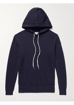 BELLEROSE - Dilhod Wool Hoodie - Men - Blue - L