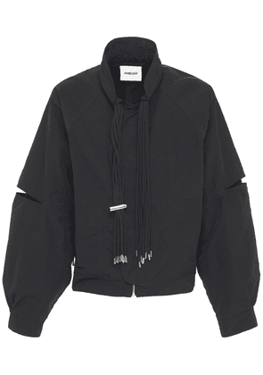 Multicord Nylon Zip Jacket