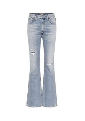 Libby mid-rise bootcut jeans