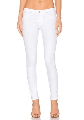 AG Adriano Goldschmied Legging Ankle in White. Size 27, 24, 26, 28, 29, 30, 31.