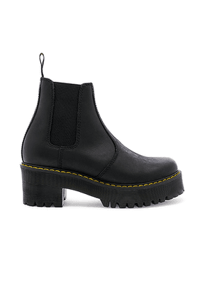 Dr. Martens Rometty Boot in Black. Size 10.