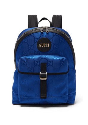 Gucci - Off The Grid Gg-jacquard Canvas Backpack - Mens - Blue
