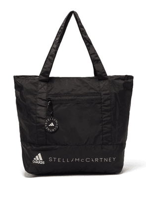 Adidas By Stella Mccartney - Packable Recycled-fibre Tote Bag - Womens - Black