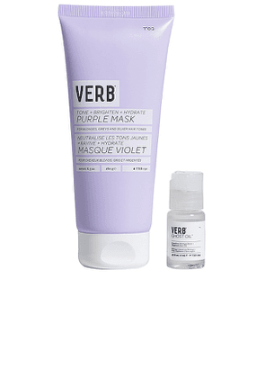 VERB Purple Mask Kit in Beauty: NA.