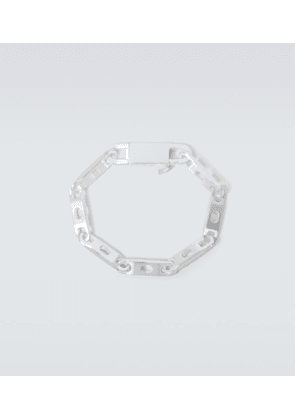 Silver-plated chain bracelet