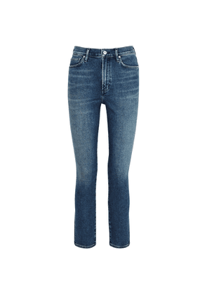 Citizens Of Humanity Olivia Dark Blue Slim-leg Jeans
