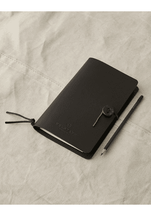 Belstaff Medium Notebook with Pencil Black