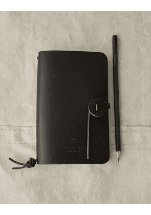 Belstaff Small Notebook with Pencil Black