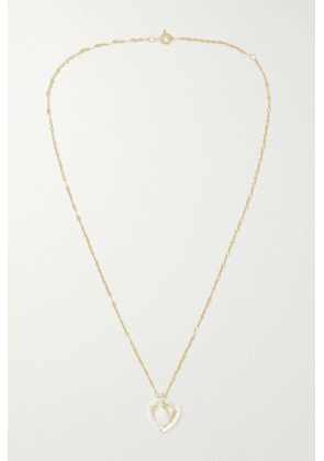 Pascale Monvoisin - Gabin N°3 14 And 9-karat Gold, Crystal And Diamond Necklace