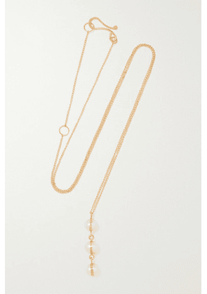 Melissa Joy Manning - 14-karat Recycled Gold Pearl Necklace