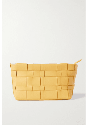 3.1 Phillip Lim - Odita Woven Leather Pouch - Yellow