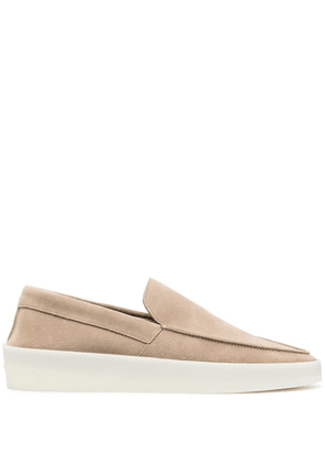 Fear Of God suede slip-on loafers - Neutrals