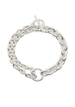 All Blues rolo chain toggle bracelet - Silver