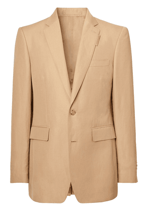 Burberry single-breasted blazer - Brown