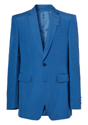 Burberry single-breasted blazer - Blue