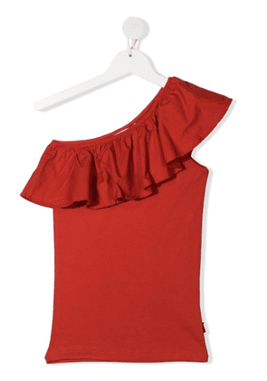 Molo TEEN Rebecca one-shoulder top - Red