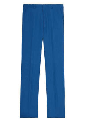 Burberry straight-leg tailored trousers - Blue
