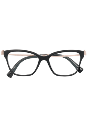 Bvlgari crystal-embellished cat-eye glasses - Black