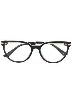 Bvlgari cat-eye glasses - Black