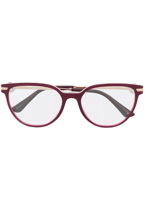 Bvlgari cat-eye glasses - Purple