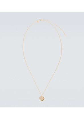 Coin pendant gold-plated necklace