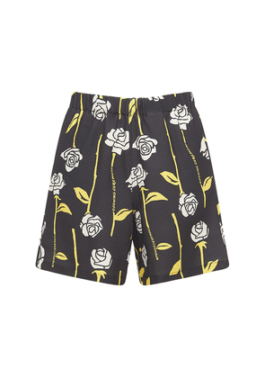 Allover Roses Tech Lounge Shorts