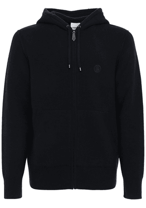 Lindley Zip-up Cashmere Knit Hoodie